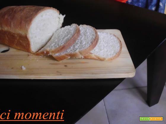Pan bauletto fatto in casa  (ricetta facilissima)