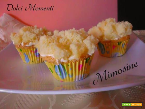 Mini mimose muffin