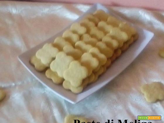 Paste di Meliga (ricetta piemontese)