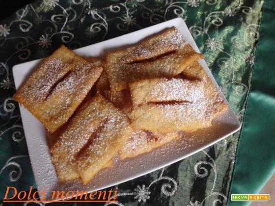 Chiacchere di carnevale (ricetta facilissima)