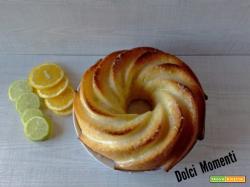 Bundt cake agli agrumi con glassa al limone