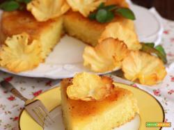 Torta rovesciata all'Ananas e Cocco