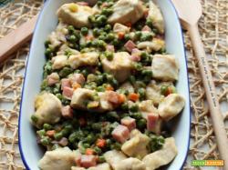 Pollo alle verdure e prosciutto