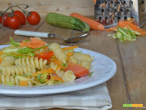 Pasta al sugo di verdure