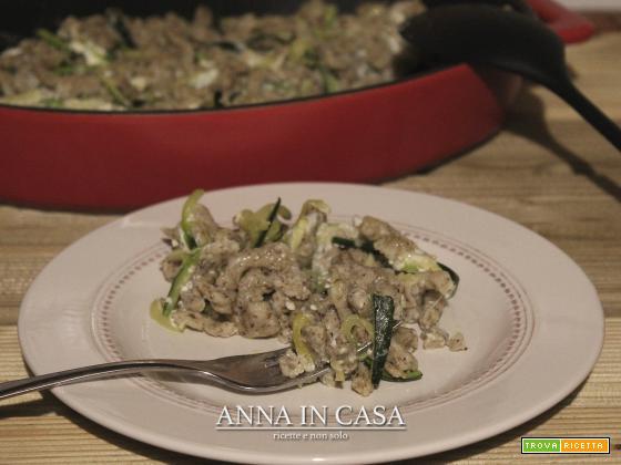 Malfatti di grano saraceno con zucchine gratinati al forno