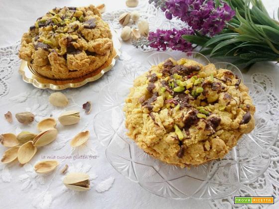 Sbriciolata al pistacchio senza glutine