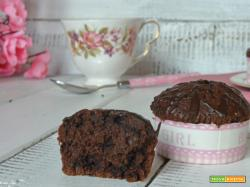 Muffin al cioccolato ricetta facile