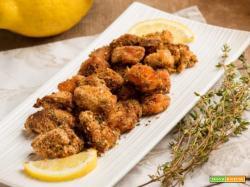 Bocconcini di salmone croccante agli agrumi per il tuo pranzo