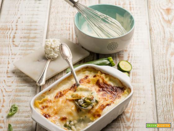 Lasagne con zucchine e fiocchi di latte: un piatto gustoso ma leggero