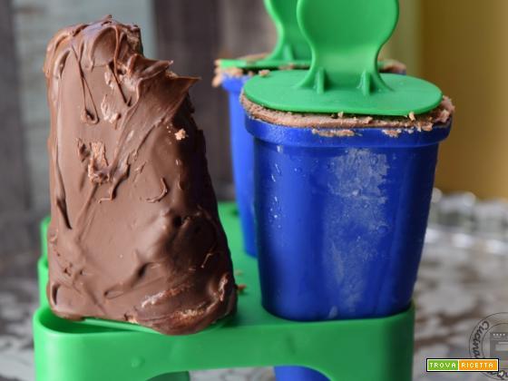Gelato stecco al cioccolato