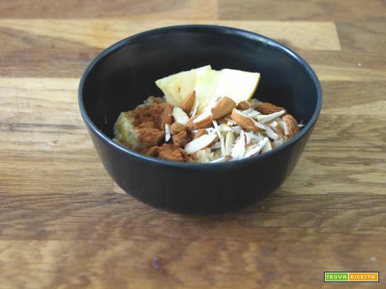 Apple pie porridge