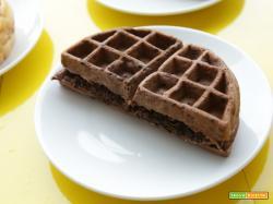 2 ricette per fare i waffle al cacao