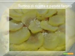Tortino di ricotta e patate