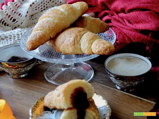 Ricetta dei croissant francesi