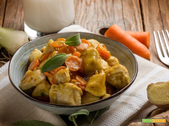 Bocconcini di pollo con latte di cocco: un piatto light da non perdere