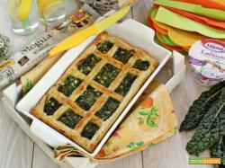 Tempo di picnic? E' l'ora della torta salata con cavolo nero!