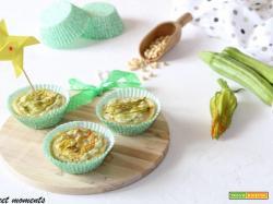 Mini quiche ricotta e zucchine