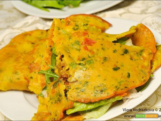 Besan ka Cheela – pancake salato indiano senza glutine