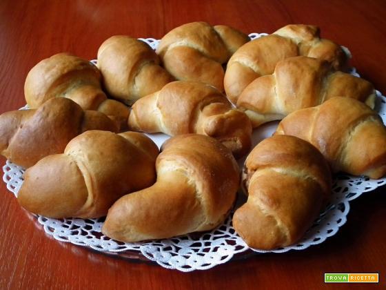Croissant senza glutine : Ricetta