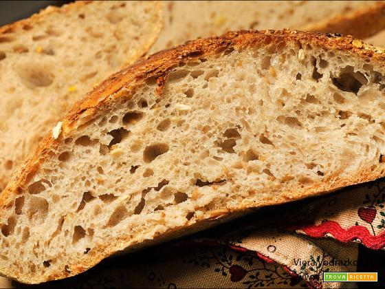 Pane all'avena e semi di lino e girasole