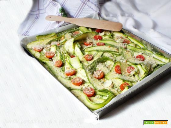 Come preparare le zucchine gratinate