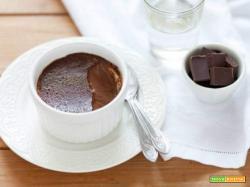 Budino al cioccolato per riciclare le uova di Pasqua