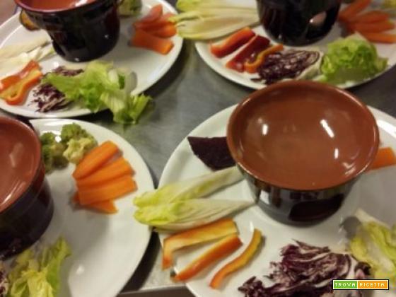 Bunet (budino alla piemontese) al cioccolato e mandorle