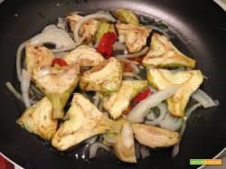 Carciofi in agrodolce alla siciliana: la ricetta dei Violetti di niscemi