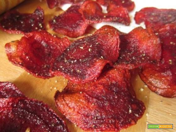 chips di barbabietola rossa e varianti deliziose tutte vegane