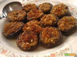 Funghi porcini ripieni al forno