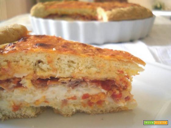 Pizza alla Campofranco campana