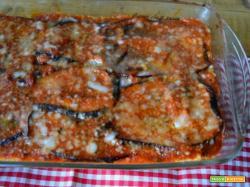 Sformato di riso e melanzana alla siciliana