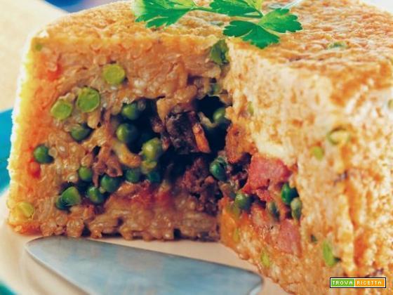 Sartù di riso vegetariano: la ricetta campana in versione vegetariana