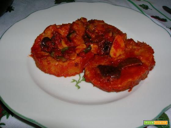 Seitan al pizzaiola