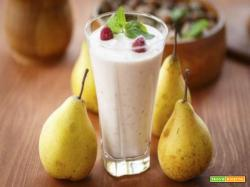 Smoothie alle pere ricetta riciclo