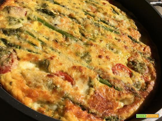 Ricetta Torta salata, peperoni, olive e yogurt greco