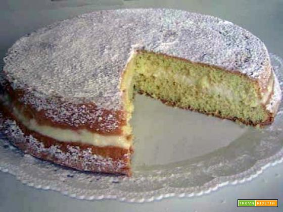 Torta vegan al limone