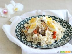Insalata di riso con maionese