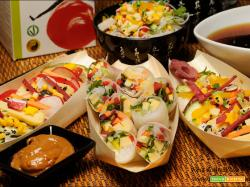Edomae Chirashi Sushi ,involtini e noodles a modo mio