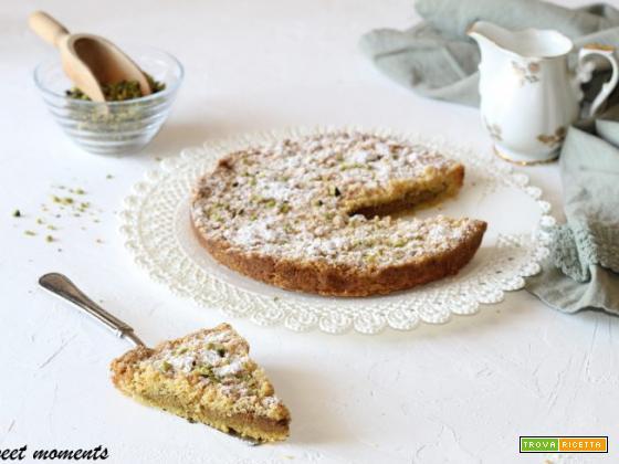 Sbriciolata con crema al pistacchio