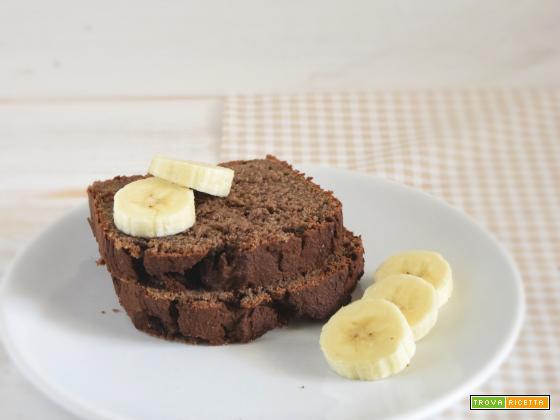 Banana bread proteico, con farina di quinoa e miglio