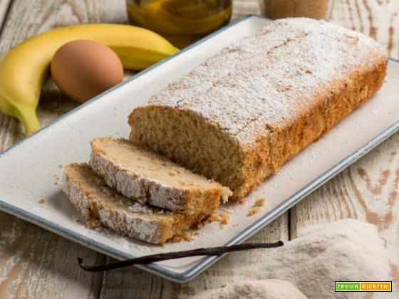 Plumcake alla banana con farina di fonio: la colazione più sana che c'è!