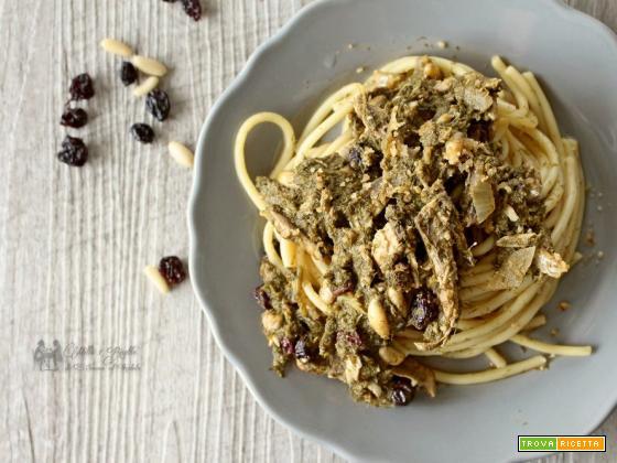 Bucatini con le sarde ricetta tipica siciliana