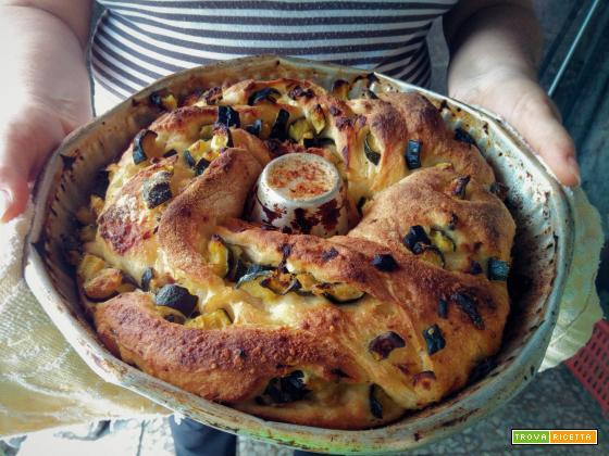 Angelica salata ricetta estiva con le zucchine