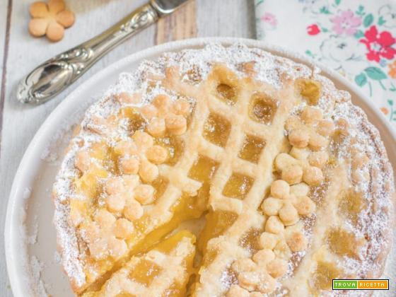 Ricetta Crostata con lemon curd (lemon tart)
