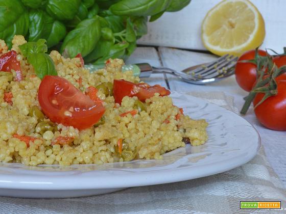 Cous cous di verdure ricetta light
