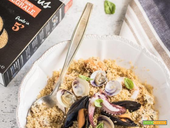 Cous cous allo scoglio – ricetta primi di pesce