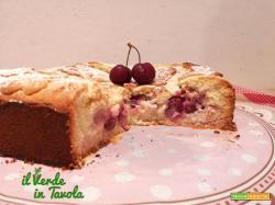 Crostata morbida con ciliegie e crema pasticcera la ricetta