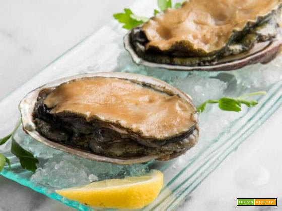 L'abalone: un frutto di mare buono e versatile