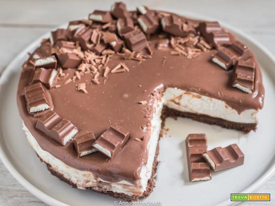 Kinder cheesecake – ricetta facile senza cottura